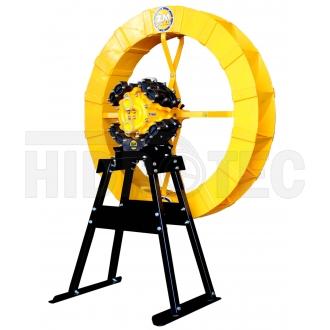 Bomba ZM-10 multi + roda abs 1,00 x 0,15 + cavalete (suporte)