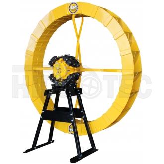Bomba ZM-15 multi + roda abs 1,40 x 0,18 + cavalete (suporte)