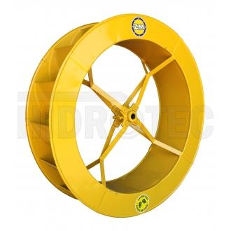Roda 0,80 x 0,25 de aço ZM-1P-38 / ZM-44