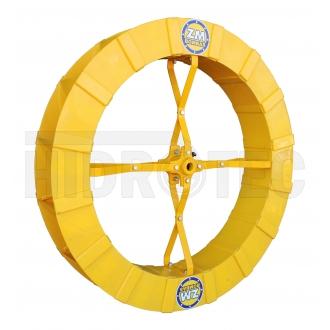 Roda 1,00 x 0,15 de polietileno ABS (plástico especial) ZM-1P-38 / ZM-44 / ZM-10