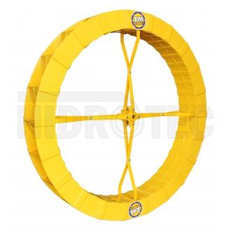 Roda 1,40 x 0,18 de polietileno ABS (plástico especial) ZM-1P-38 / ZM-44 / ZM-15