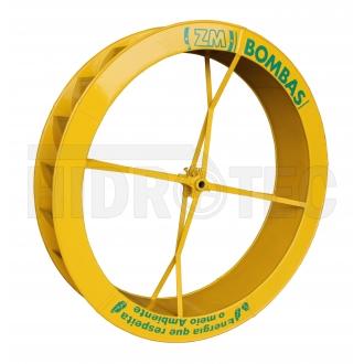 Roda 1,40 x 0,25 de aço ZM-38 / ZM-51 / ZM-63