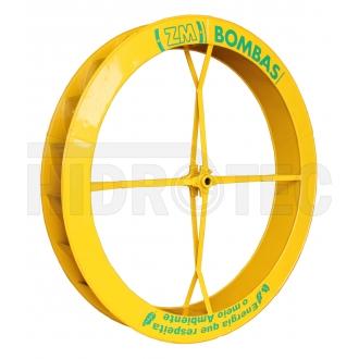 Roda 1,50 x 0,18 de aço ZM-1P-38 / ZM-44