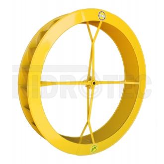Roda 1,50 x 0,25 de aço ZM-1P-38 / ZM-44
