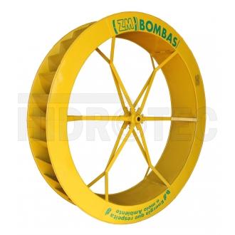 Roda 1,50 x 0,35 de aço ZM-76 / ZM-95