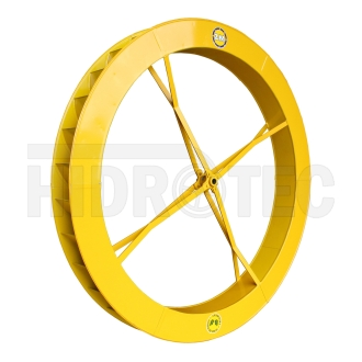 Roda 1,80 x 0,18 de aço ZM-1P-38 / ZM-44