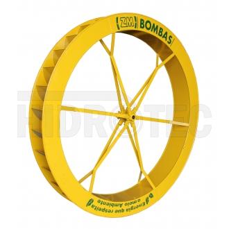 Roda 2,20 x 0,25 de aço ZM-76 / ZM-95