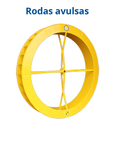 Roda d'água avulsa